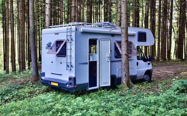 Camping-car nature