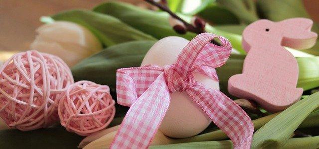 Œuf de pâques décoré