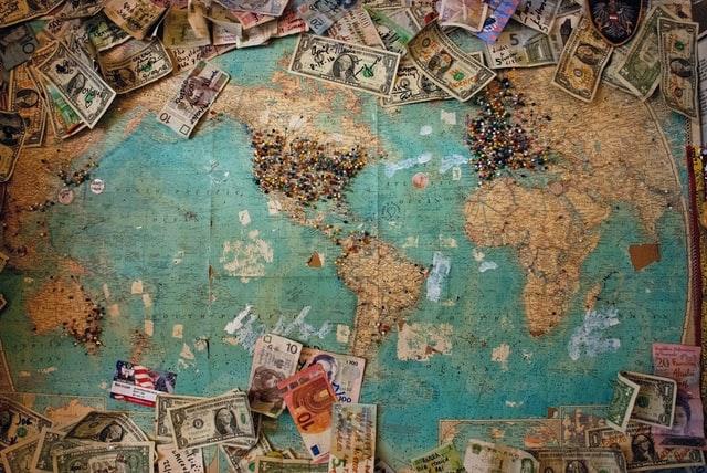 Revenge Travel - Carte Monde