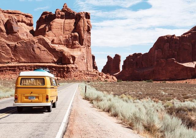 Revenge Travel - Van Route