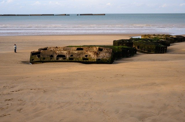 Plage Débarquement Normandie - HomeCamper