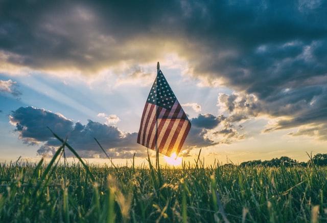 Fête Nationale Drapeau Etats-Unis